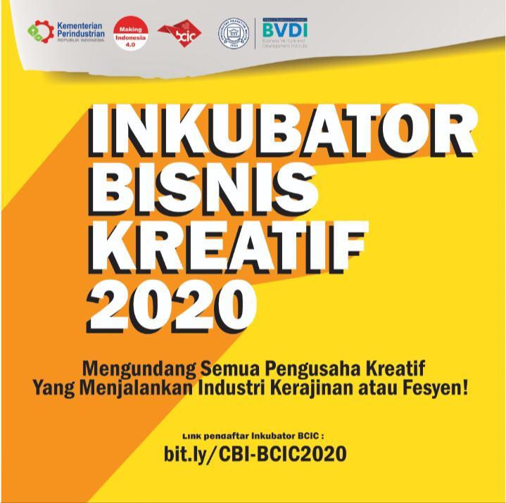 Inkubator Bisnis Kreatif 2020