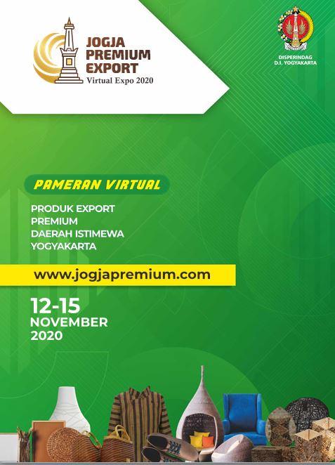 Pameran Virtual Jogja Premium Export Virtual Expo