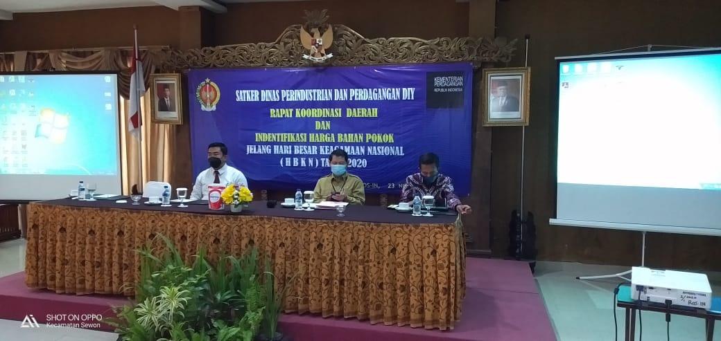 Rapat Koordinasi Daerah dan Identifikasi Harga Bahan Pokok Jelang Hari Besar Keagamaan Nasional
